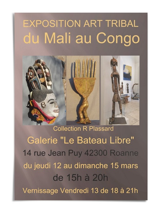 exposition art africain Roanne